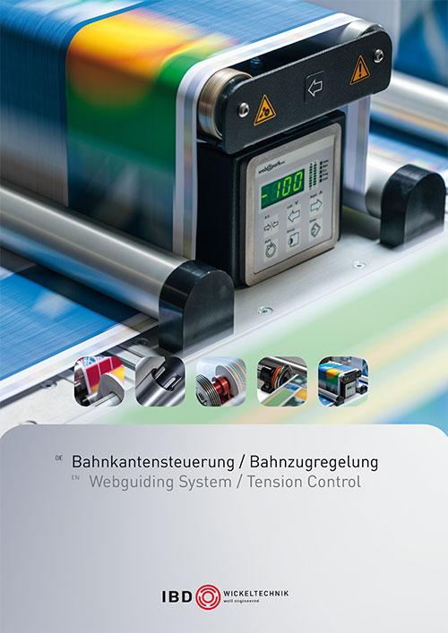Bahnregelung - Web Control - 2020 IBD Wickeltechnik