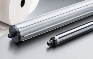 Aluminium profile expansion shaft