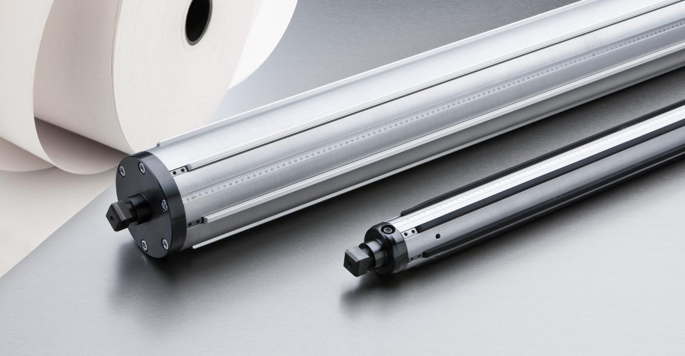 Aluminium-Profil Spannwelle