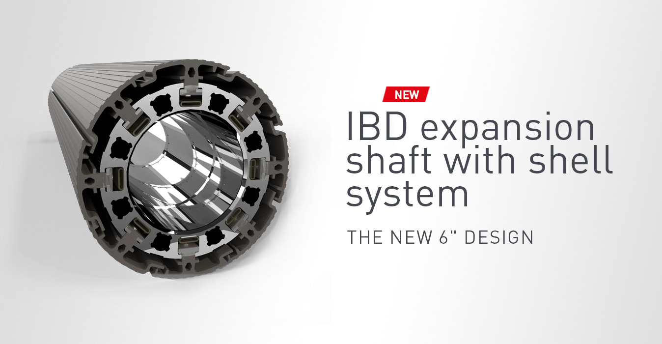 IBD expansion shaft with shell system